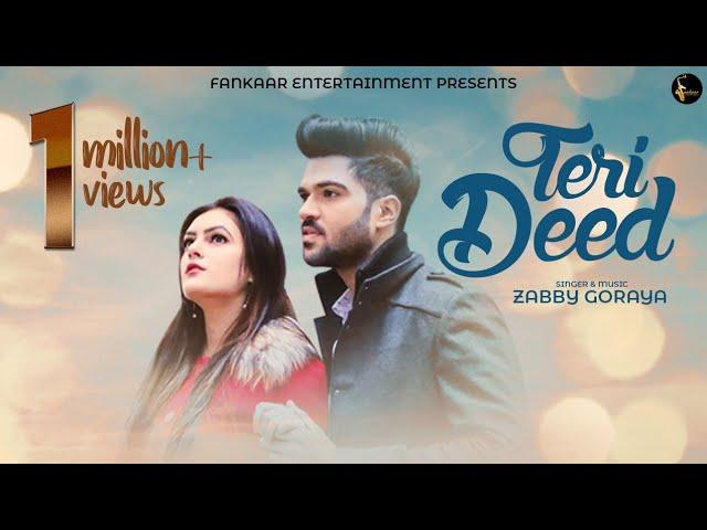 Teri Deed | Zabby Goraya | New Punjabi Songs 2019 | Latest Punjabi Songs 2019 | Jinu Ishq Aakhde #1