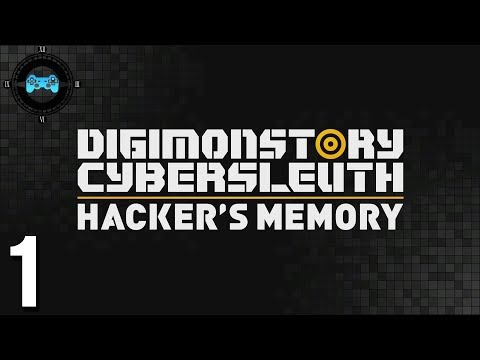 Return to EDEN - Digimon Story Cyber Sleuth: Hackers Memory #1 [Blind Let's Play, Playthrough]
