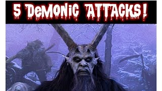 5 Scary Demon/ Ghost/ Interdimensional Beings Attacks Caught on Film | Midnight Fears