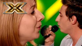 "Дуэт ""Франк-Тодирес"". «Vivo Per Lei» Andrea Bocelli & Heather Headley. Х-фактор 6. Восьмой кастинг"