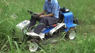 広い敷地の草刈り作業に!アグリップ 乗用草刈機 ARM81