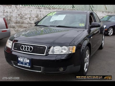2003 audi a4 1 8t quattro sedan youtube. Black Bedroom Furniture Sets. Home Design Ideas