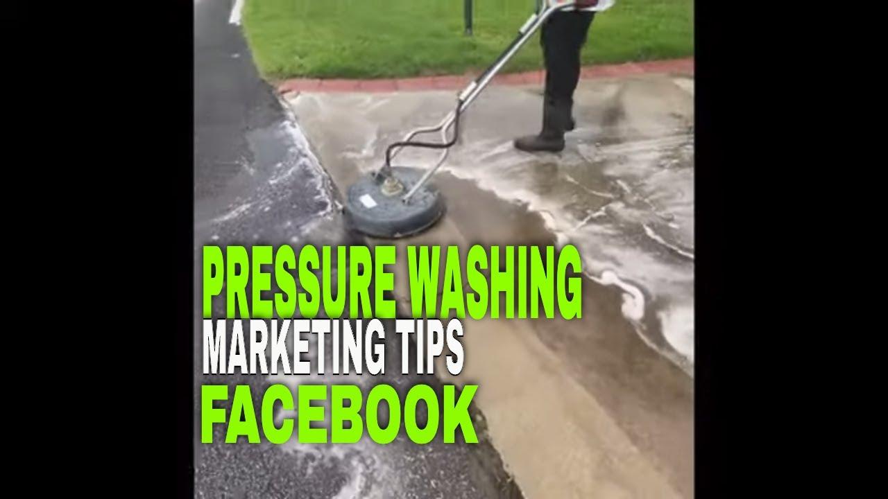 Pressure Talk-Pressure Washing Business Marketing Tips- Satisfying #3 Facebook Post -vs- ADS