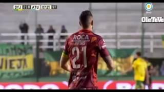 Defensa y Justicia 3 - 0  Atletico Tucumán - Torneo de Argentina 2017 - Fecha 28