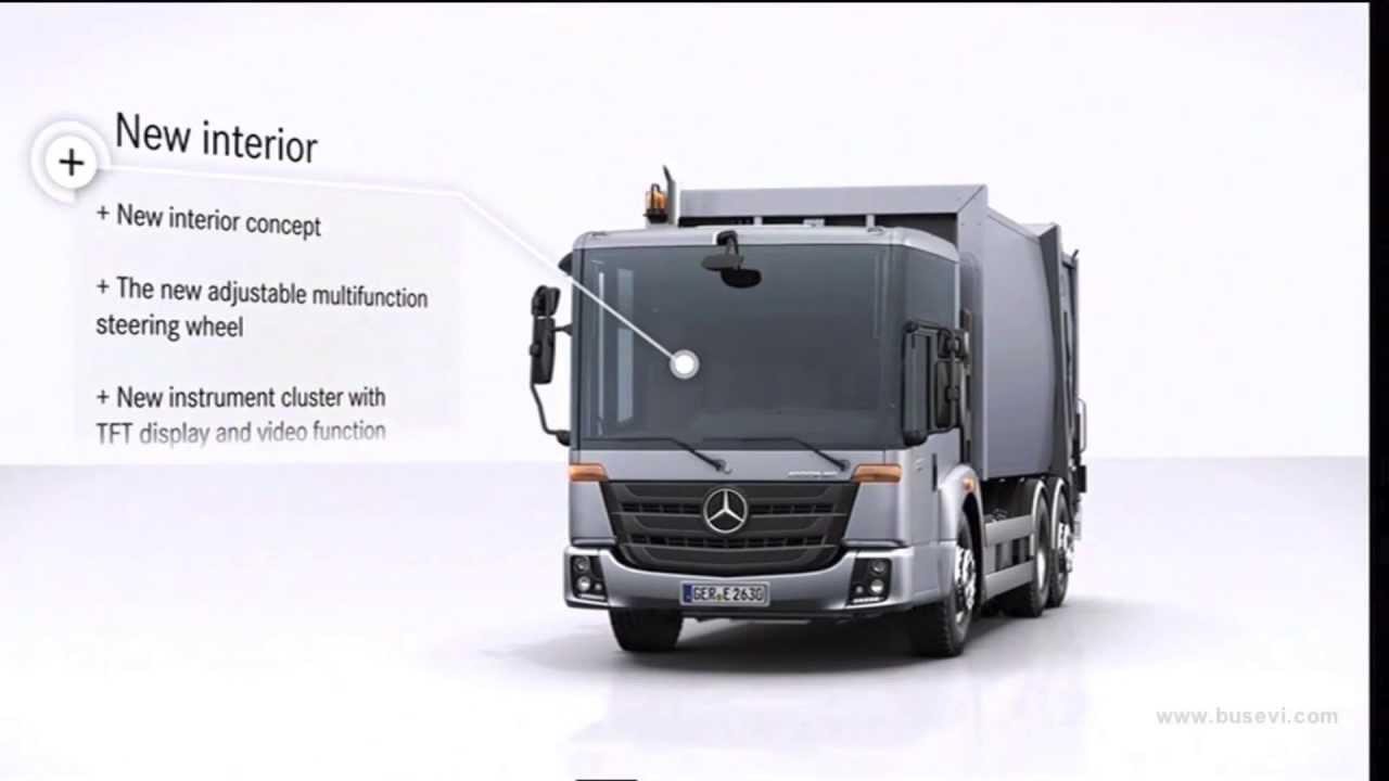 World premiere Mercedes-Benz Econic (2013) - YouTube