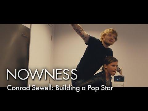 Conrad Sewell takes tips from Ed Sheeran