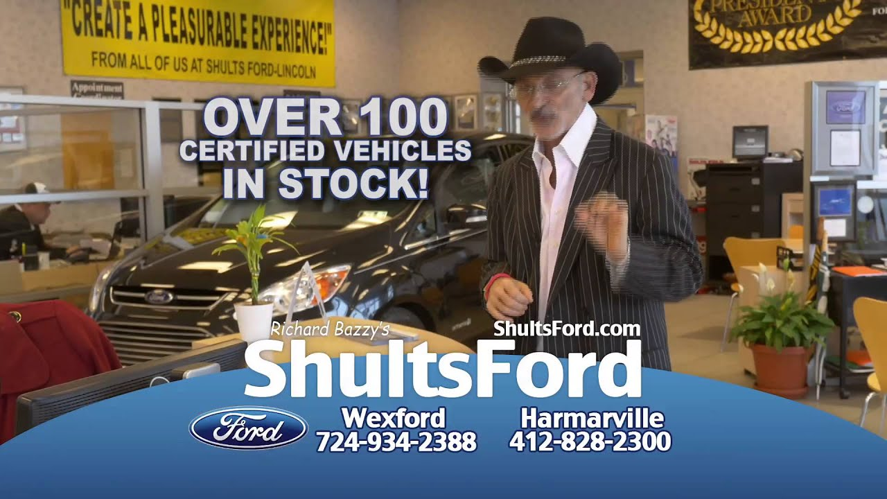 Ford Certfied King Richard Bazzy S Shults Ford In Wexford And