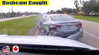 Ultimate North American Cars Driving Fails Compilation - 193 [Dash Cam Caught Video]