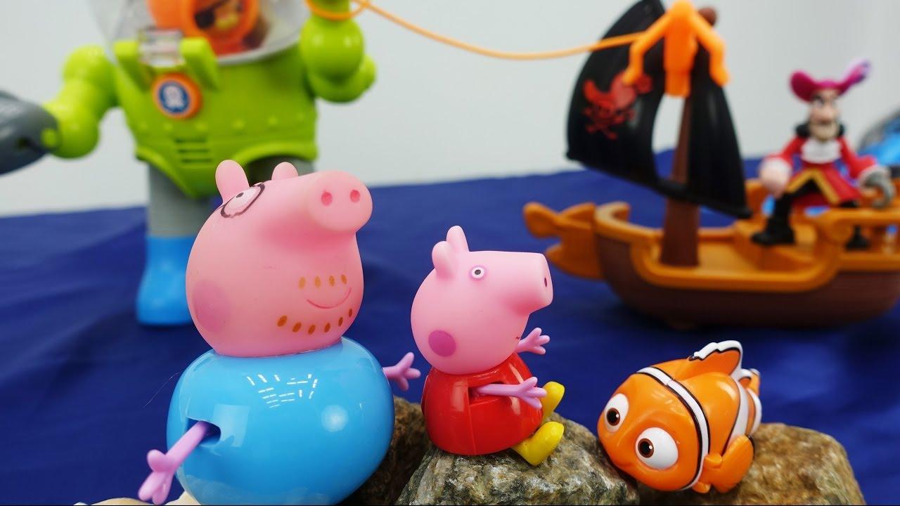 Свинка Пеппа - Видео с игрушками для детей - Приключения ...