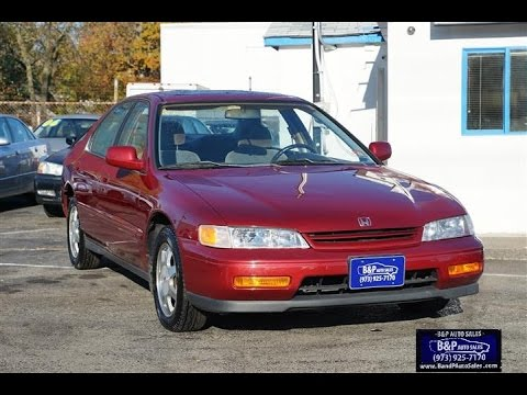 21+ 1995 Honda Accord Ex Sedan