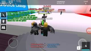 Avenger atau justice league? l roblox pick a side