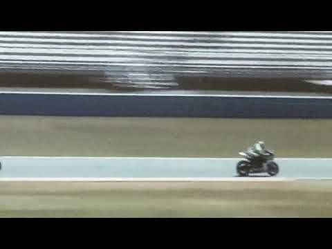 Valentin Debise Daytona 200 Crash