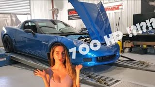 Getting My Supercharged Corvette Tuned!