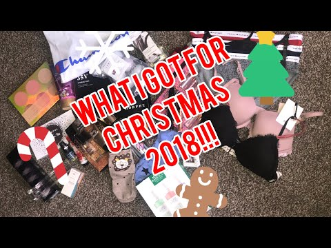 WHAT I GOT FOR CHRISTMAS 2018🎄❤️ (Sabah Takeover)