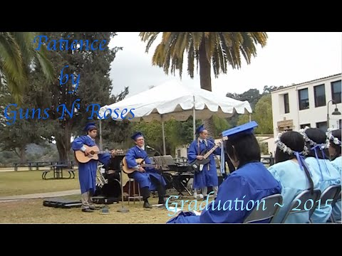 """Patience"" by Guns N' Roses - Villanova Preparatory School Graduation 2015"