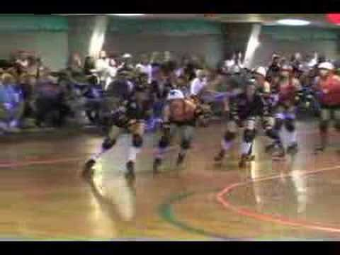"Mobile Roller Derby vs Mississippi Rollergirls ""Hits"" video"