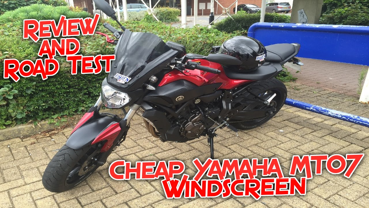 119 cheap yamaha mt 07 windscreen review and road test. Black Bedroom Furniture Sets. Home Design Ideas