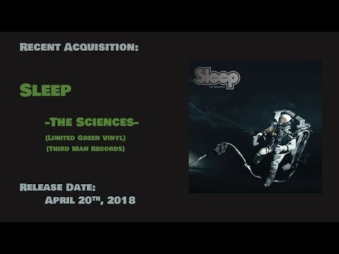My Personal Collection - Recent Acquisitions (Sleep - The Sciences)