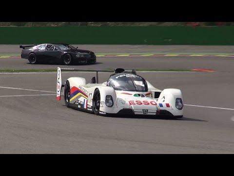Peugeot 905 V10 Le Mans winner 1993 Pure Sound @ Spa Francorchamps