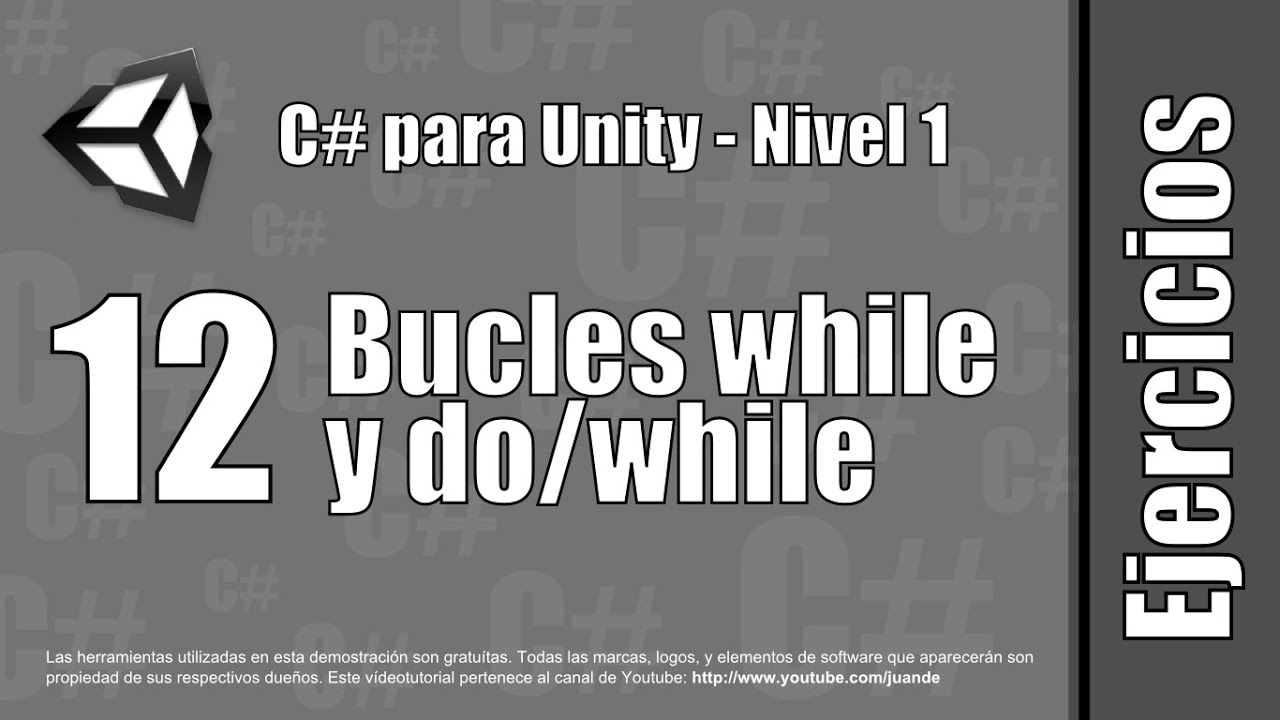 """12 - Bucles """"while"""" y """"do""""/""""while"""" - Ejercicios"""