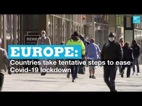 europe:-countries-take-tentative-steps-to-ease-covid-19-lockdown