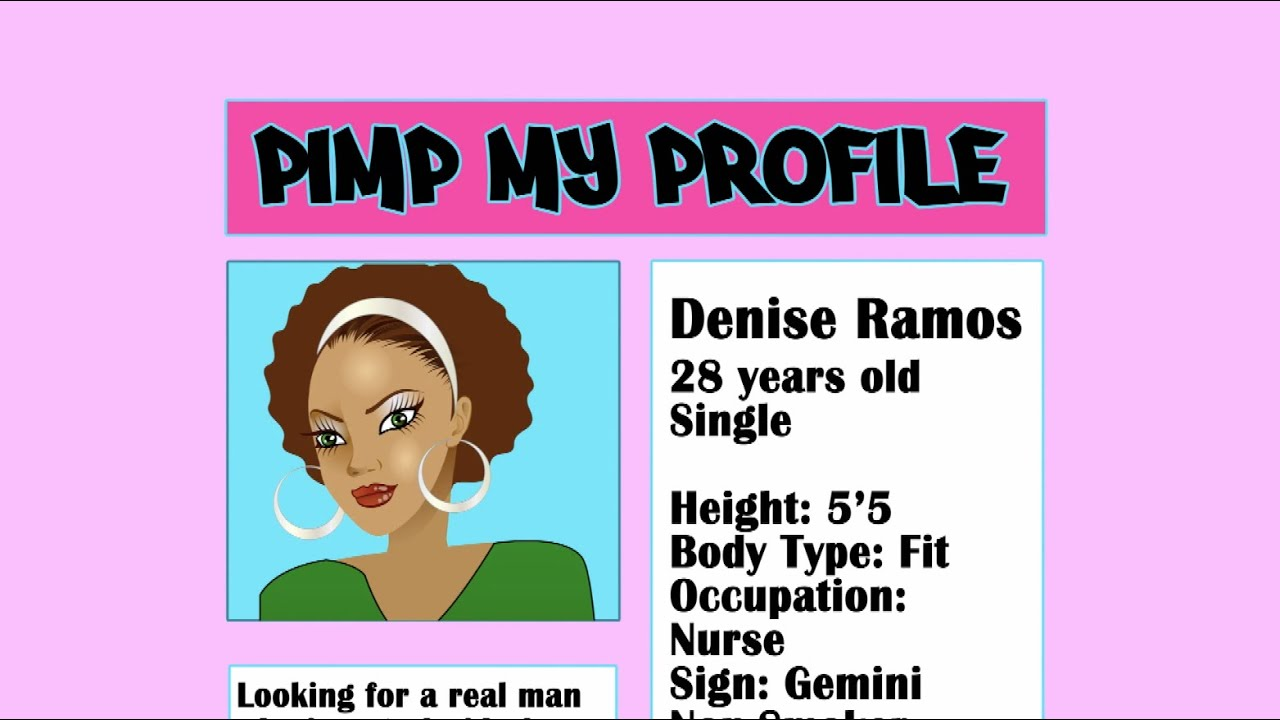 Pimp my dating profile