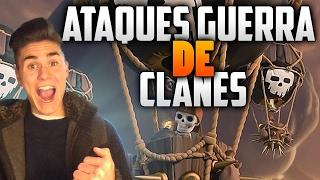 MIS ATAQUES DE GUERRA en CLASH OF CLANS | TH11 vs TH10 at war | Clash of clans en español 2017