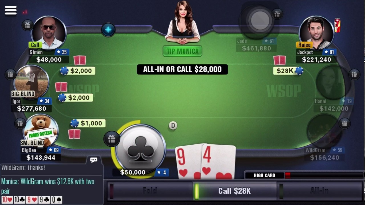 World Series Of Poker Buy In