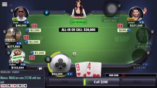 how to play world series of poker game