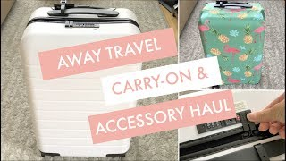 AWAY TRAVEL CARRY-ON SUITCASE || $20 OFF + REVIEW + ACCESSORY HAUL