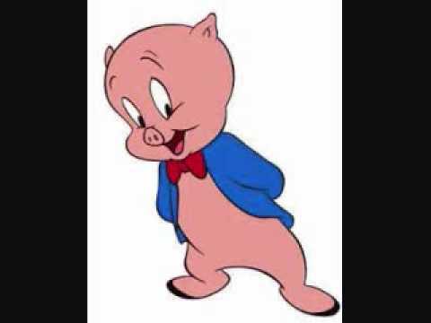 porky pig's blue Christmas