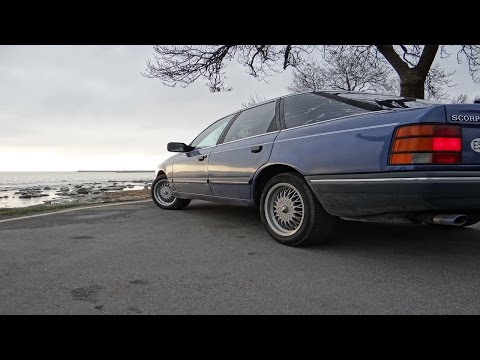 Обзора Ford Scorpio 2.9i 1989 года за 11.000 рублей
