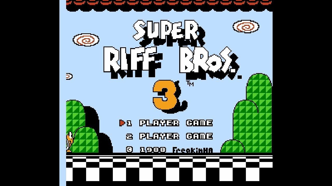 Repeat [ROM Hack] Super Riff Bros  3 by Stanley LAM - You2Repeat
