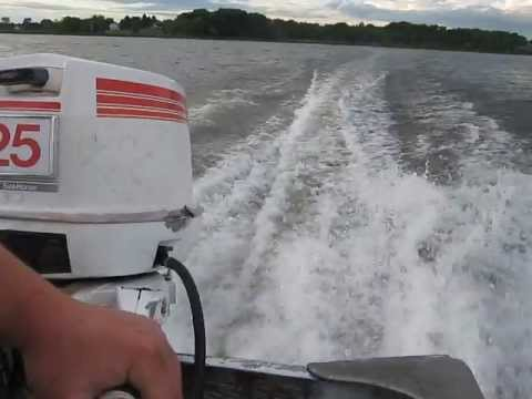 1980 Johnson 25hp outboard motor