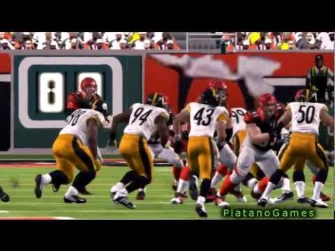 NFL 2012 SNF Wk 7 - Pittsburgh Steelers (2-3) vs Cincinnati Bengals (3-3) 2nd Half - Madden
