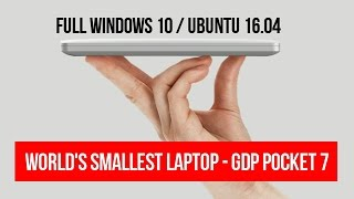 GDP POCKET 7 LAPTOP | Is this the World
