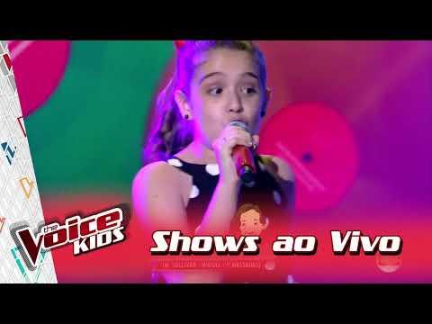 Giovanna Alvarenga canta 'Whisky a go go' nos Shows ao Vivo – 'The Voice Kids Brasil' | 3ª Temporada