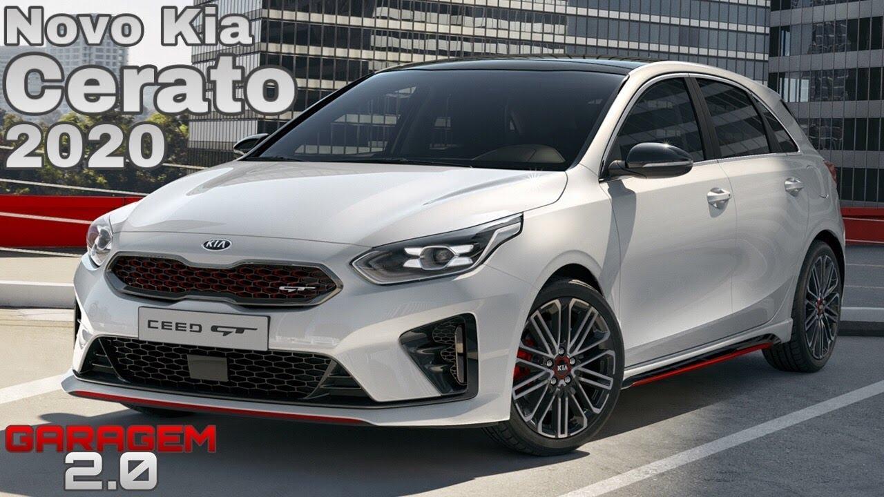 novo kia cerato hatchback 2020 -  garagem 2 0