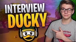 so i INTERVIEWED DuckyTheGamer about Fortnite Mobile...