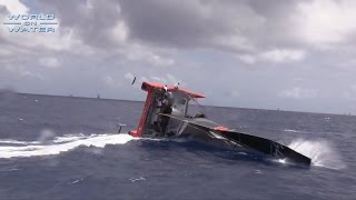 World on Water April 26 15 Sailing News. G4 Capsize, Golden Globe 2018, VOR SCA, ISAF SWC Hyeres