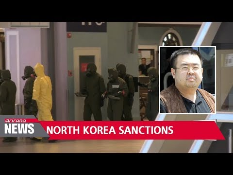 U.S. imposes new sanctions on North Korea over chemical weapons use