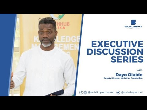 Executive Discussion Series: Dayo Olaide