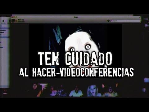 TEN CUIDADO AL HACER VIDEOCONFERENCIAS