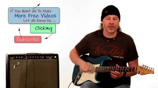Blues Saraceno Guitar Lesson - Arpeggio Licks Phrasing - Part 1 of 3 Guitar Breakdown How To Play