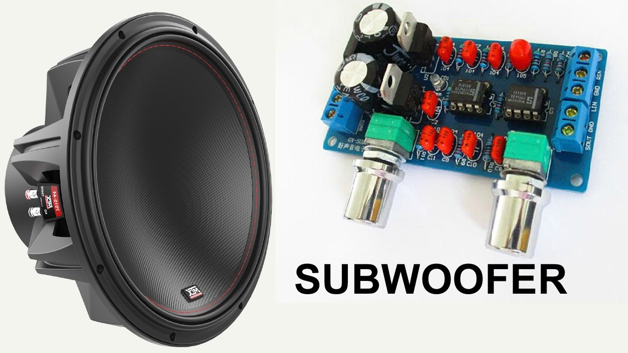 How to make home subwoofer amplifier  YouTube