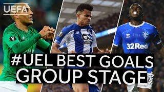 KHAZRI, DÍAZ, OJO: #UEL BEST GOALS Group Stage