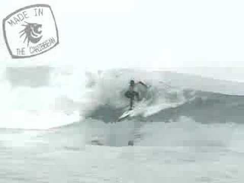 Surfing El Canal - Caribbean