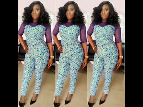 Simple and Beautiful Ankara Pants Styles : Africa Fashion