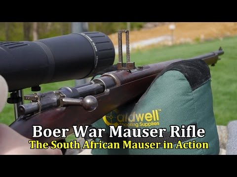Boer War Mauser Rifle | The South African Mauser in Action