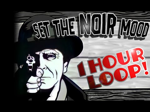 Detective Noir Music - Rainy Smoky Jazz (1 hour Loop)